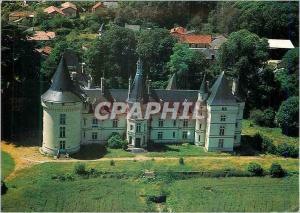Moderne Karte Chateaux du Poitou Naintre (Vienne) Le Chateau