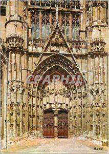 Moderne Karte Beauvais (Oise) Portail Sud de la Cathedrale St Pierre