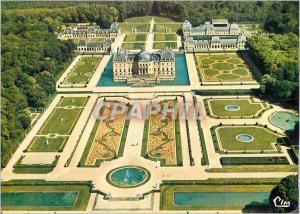 Moderne Karte Chateau de Vaux-le-Vicomte