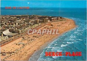 Moderne Karte La Cotre d'Opale Berck Plage (Pas de Calais) La magnifique plage de la Cote d'Opale et la Baie d