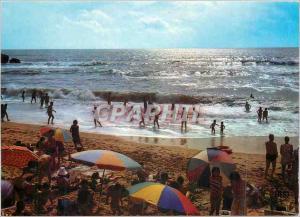 Moderne Karte Saint Hilaire de Riez (Vendee) Sion sur l'Ocean Jeux de plage dans les vogues