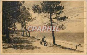 Ansichtskarte AK Pyla sur Mer Gironde Vue sur la Grande dune