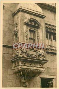Ansichtskarte AK Dijon Cote d Or Echauguette Renaissance Rue de la Vannerie