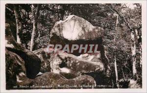 Ansichtskarte AK Foret de Fontainebleau Mont Chauvet La roche qui remue