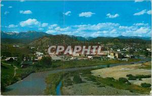 Moderne Karte Pagosa Springs Southern Colorado
