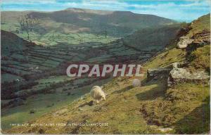 Moderne Karte the Black Mountains from Mynydd Llangorse