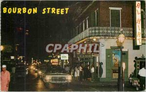 Moderne Karte Bourbon Street by Day Fine Restaurants Interesting Patios Curio Shops and Art Galleries