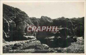 Moderne Karte Contre jour dans les rochers de vallieres