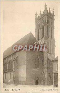 Ansichtskarte AK Ll 15 moulins l eglise saint pierre
