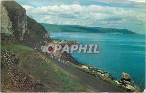 Moderne Karte Antrim coast near glenarm co antrim