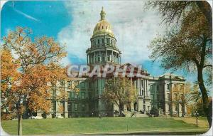 Moderne Karte Colorado State Capitol Looking the Civic Denver Colo