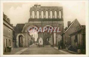 Ansichtskarte AK Autun Porte Romaine dite d'Arroux