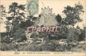 Ansichtskarte AK Foret de Fontainebleau Vue sur la Tour Denecour