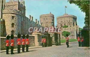Moderne Karte Windsor Castle Changing of the Guard