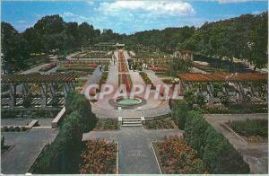 Moderne Karte Montreal PQ Canada Le Jardin Botanique