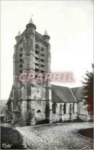 Moderne Karte la Ferte Milon (Aisne) Eglise Notre Dame