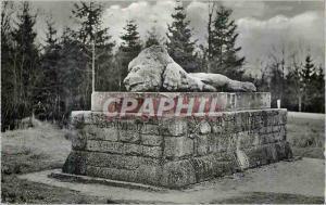 Moderne Karte Verdun et les Champs de Bataille le Lion de la Chapelle Sainte Fine Lion Militaria