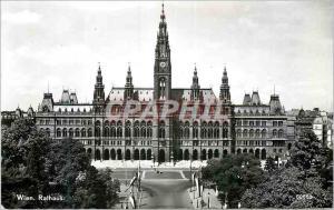 Moderne Karte Wien Rathaus Vienne Hotel de Ville