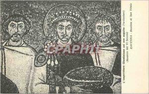 Ansichtskarte AK Ravenna Basilica di San Vitale l'Imperatore Giustianiano Col Suo Seguito