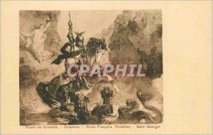 Ansichtskarte AK Musee de grenoble delacroix (ecole francaise moderne) saint georges