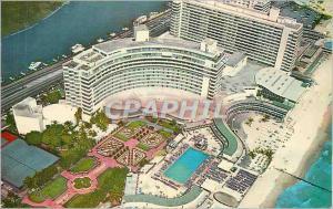 Moderne Karte Fontainebleau Miami Beach Florida