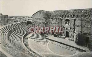 Moderne Karte Orange (Vaucluse) le Theatre Romain l'Hemicycle