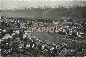Moderne Karte Les Belles Alpes Francaises Grenoble La Tronche Verte L'Isere et les Alpes