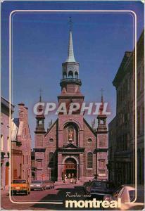 Moderne Karte Montreal (Quebec) Notre Dame de Bon Secours Le Premier Sanctuaire de Montreal