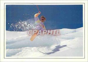 Moderne Karte Ski Show