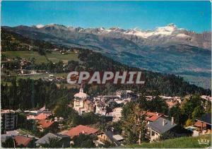 Moderne Karte St Gervais les Bains Hte Savoie Echappee sur les Warens et la chaine des Aravis