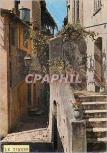 Moderne Karte Le Cannet Cote d Azur Rue Rapide