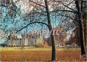 Moderne Karte Chambord Loir et Cher Le chateau et son parc a l automne