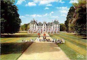 Moderne Karte Cheverny Loir et Cher Le Chateau Un depart a la Chasse  Chiens