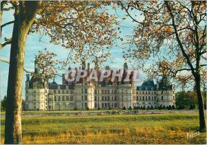 Moderne Karte Chambord Loir et Cher Le chateau