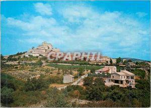 Moderne Karte Les Belles Images de Provence Le Barroux Vue generale