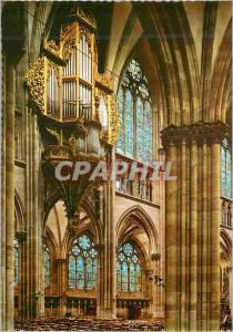 Moderne Karte Cathedrale de Strasbourg Les Grandes Orgues