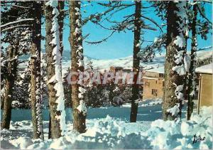 Moderne Karte Pyrenees Orientales Font Romeu Station de sports d hiver et d ete