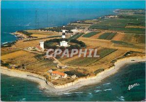 Moderne Karte Sur la Cote de Lumiere dans I Ile d Oleron A la pointe nord de I Ile le phare de Chassiron