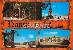 Moderne Karte Nancy Place Stanislas Meurthe et Moselle