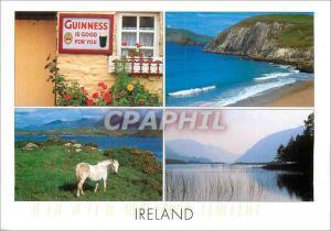 Moderne Karte Ireland Guinness is Good for You
