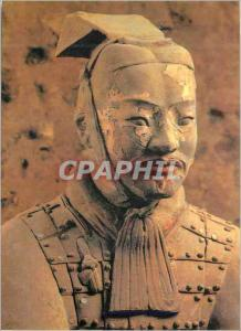 Moderne Karte Terracotta Warrior