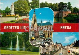 Moderne Karte Groeten Uit Breda