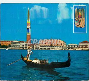 Moderne Karte Venezia Panorama General View