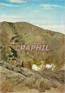 Moderne Karte Crater of the Irazu Volcano in the Province of Cartago Costa Rica A C
