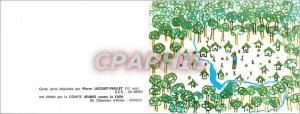 Moderne Karte Carte Dessinee par Pierre Jacquet Viallet (12 ans) Bron est Editee par la Comite jeunes Contre l