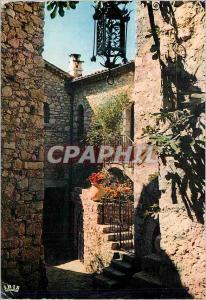 Ansichtskarte AK Reflets de la cote d azur 06 059 74 eze village(a m) rue typique d un vieux village provenca