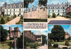Moderne Karte 1688 chateau de chateaubriant chateau renaissance (xxi) et ruines du chateau fort (xi)