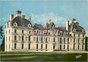 Moderne Karte Les merveilles du val de loire cheverny (loir et cher) 1908 la facade principale du chateau (xvi