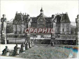 Moderne Karte 41 env de melun vaux le vicomte le chateau facade nord