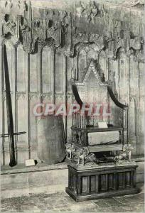 Moderne Karte Coronation Chair Westminster Abbey London The Coronation Chair which was made for Edward I To en